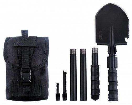 IUNIO Military Portable Folding Shove