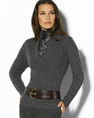 Ralph Lauren Petites Cashmere Sweater