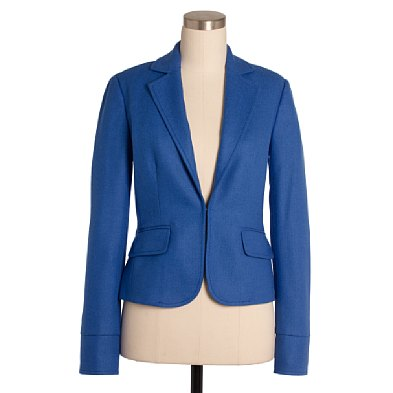 J. Crew Herringbone école jacket