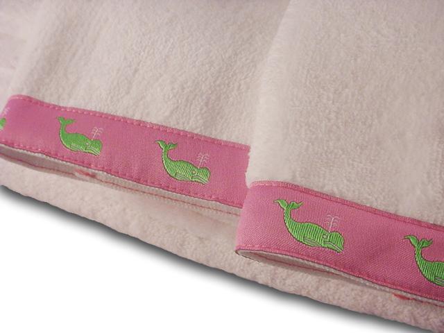 Classic Whales Guest Towels Set