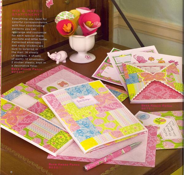 Lilly Pulitzer Mix & Match Stationery set