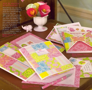 Lilly Pulitzer Mix & Match Stationery