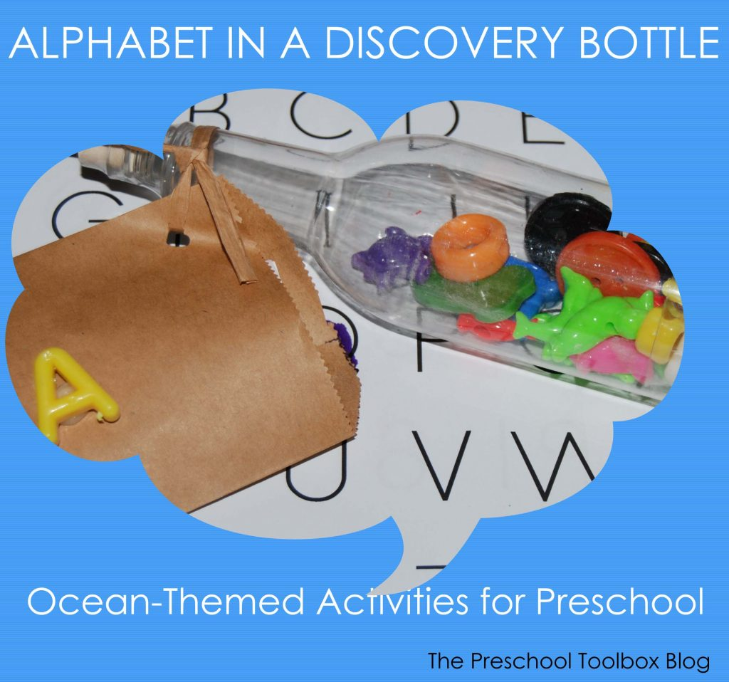 Ocean And Beach Theme Activities Message In A Bottle