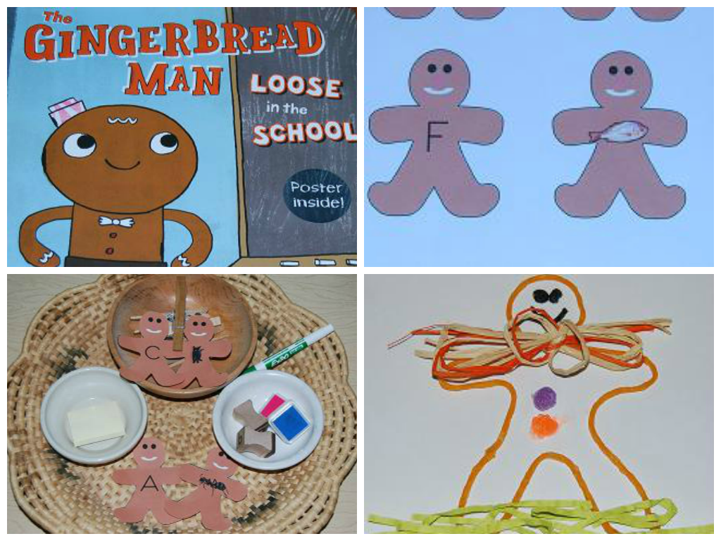 Preschool Activities For The Gingerbread Man Loose In The