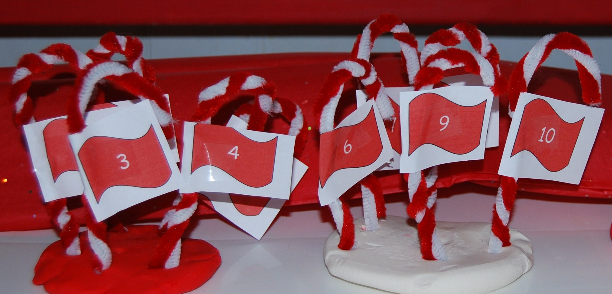 Candy Cane Sensory Math For Preschool The Preschool