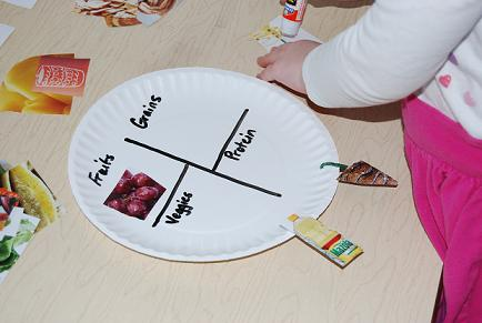 Healthy Food Habits In Preschool Sorting And A Paper