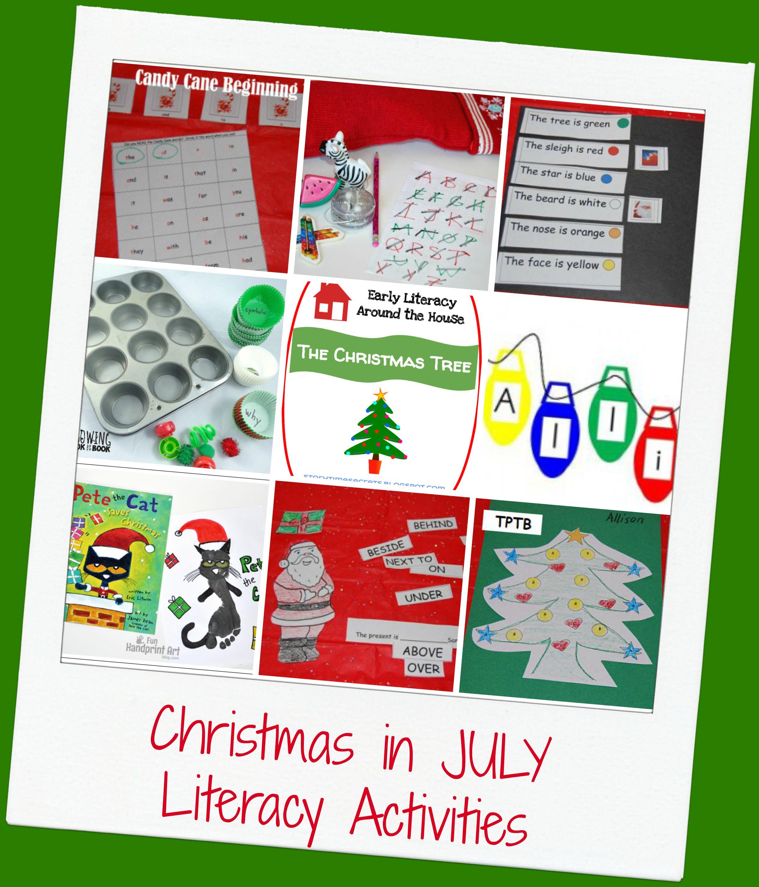Christmas In July Activities For Preschool The Preschool Toolbox Blog