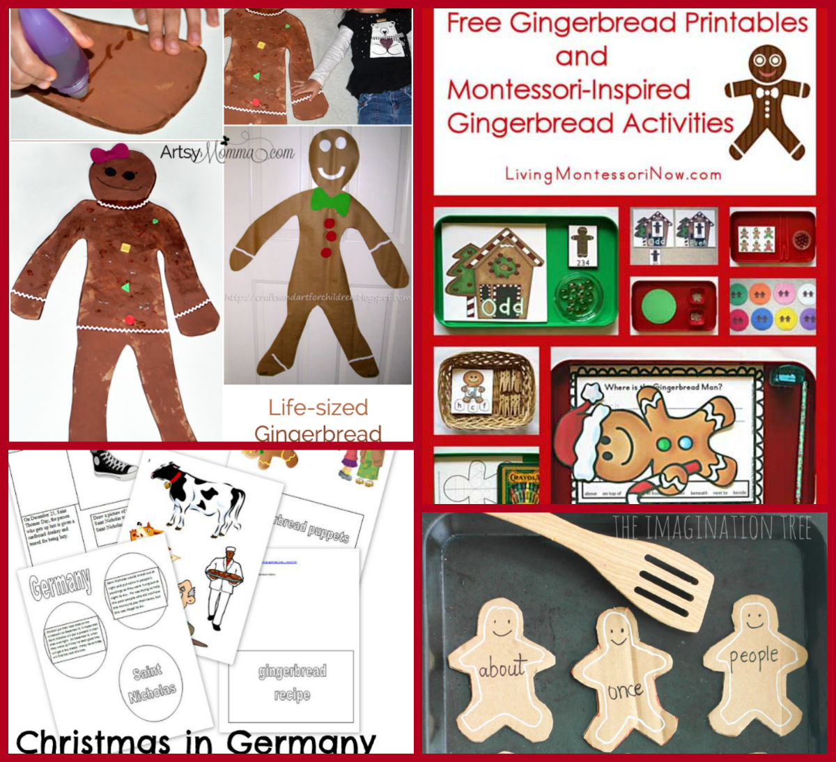 The Ultimate Gingerbread Theme For Preschool And