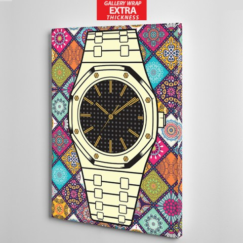 colour bg audermars piguet canvas wall gallery wrap