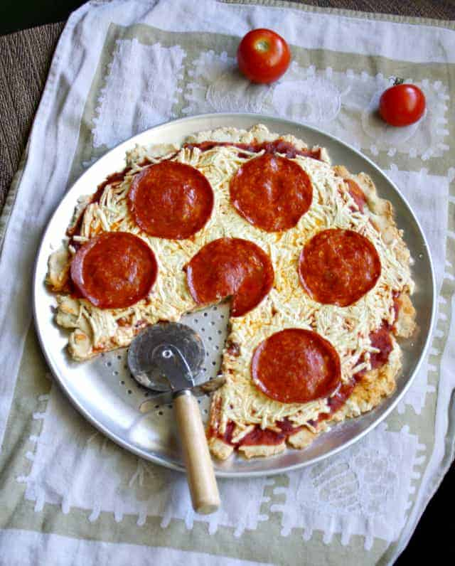 dairy free and gluten free pepperoni pizza recipe