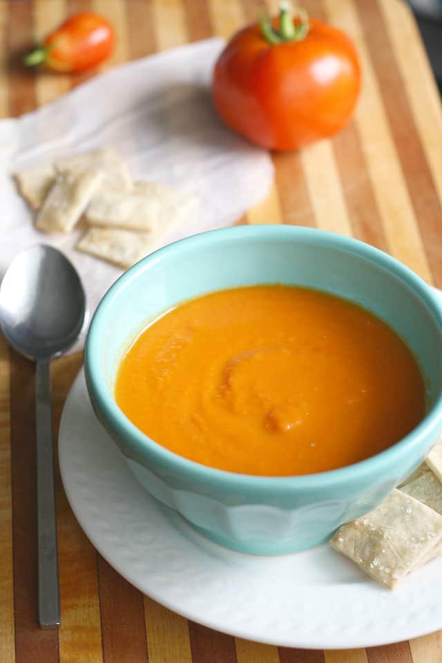 vegan and gluten free tomato soup