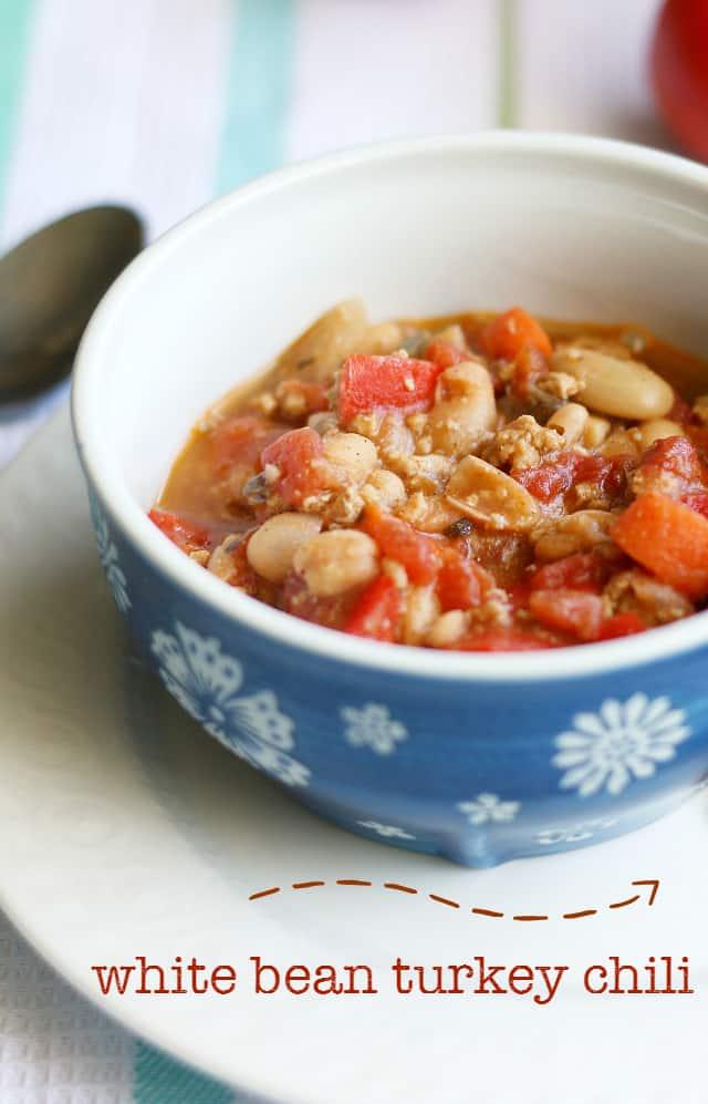 white bean turkey chili recipe