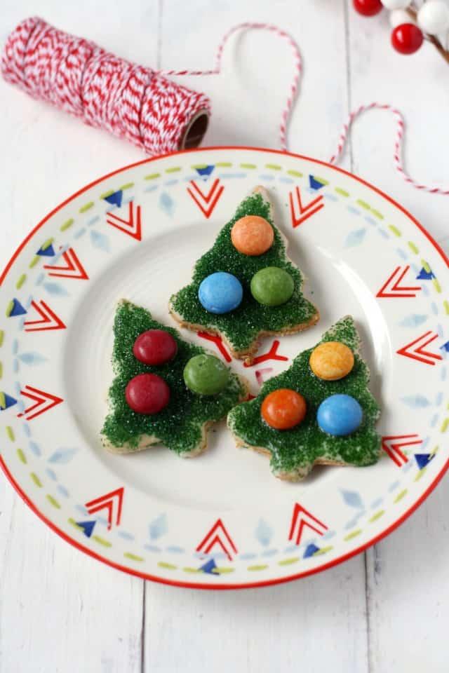 gluten free vegan christmas sugar cookies