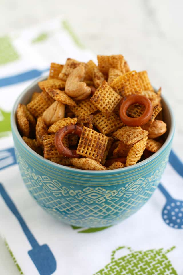 It's so easy to make chex mix gluten free and vegan! A snack everyone loves for special diets.