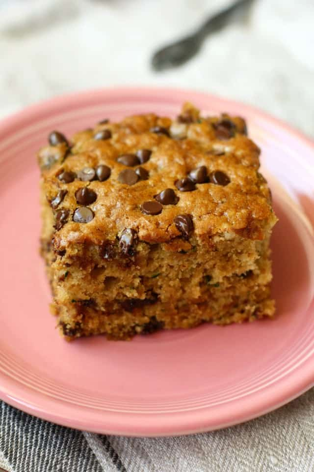 chocolate chip zucchini cake vegan chocolate chip zucchini snack cake the pretty bee 2854