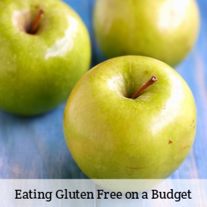 Eating gluten free on a budget