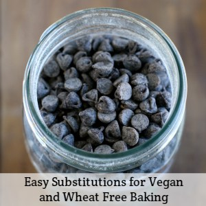 vegan and wheat free baking substitutions