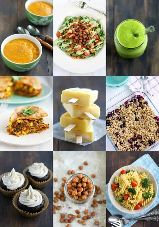 Just a few of the many recipes in the new ebook, Allergy Free and Delicious.