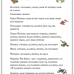 Printable Spice Substitution Chart.