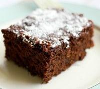 Easy gluten free and vegan chocolate cake