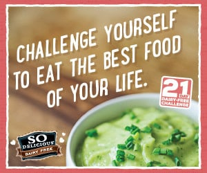 Join in the 21 day dairy free challenge with SO Delicious! #dairyfree ad