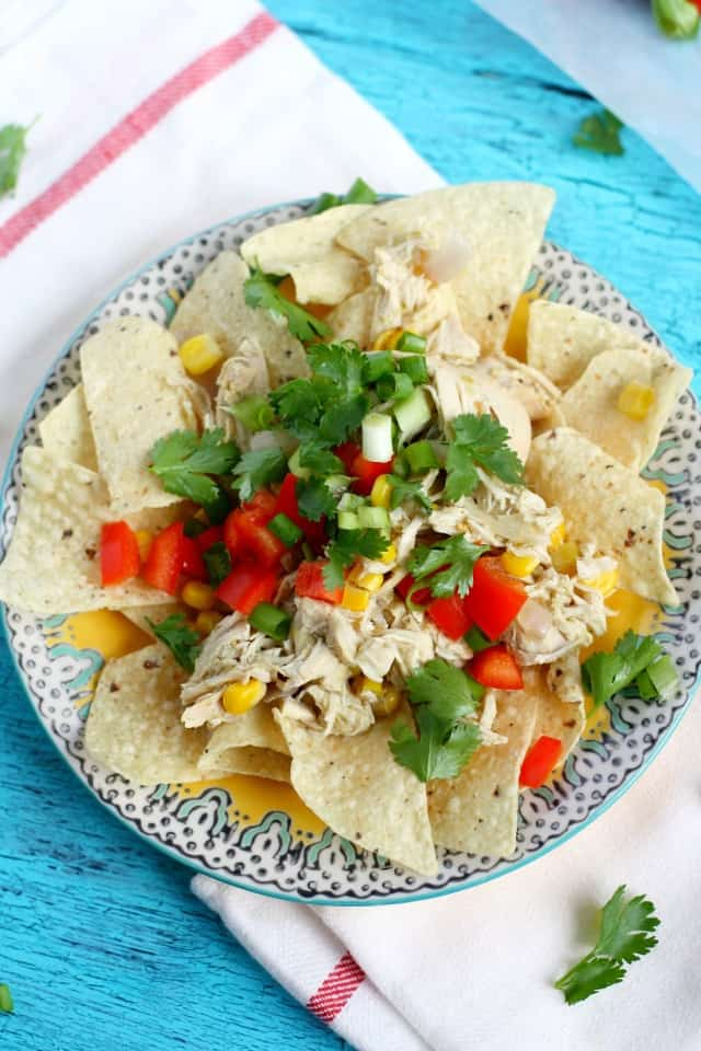 easy slow cooker Mexican chicken
