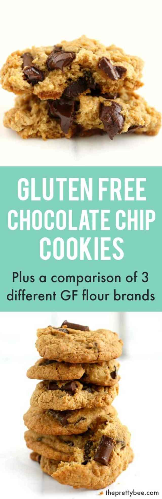 Find out how three brands of gluten free flour perform in a classic chocolate chip cookie recipe.