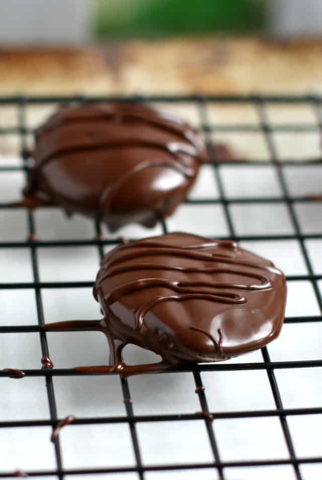Homemade peppermint patties are a decadent treat that's easy to make!