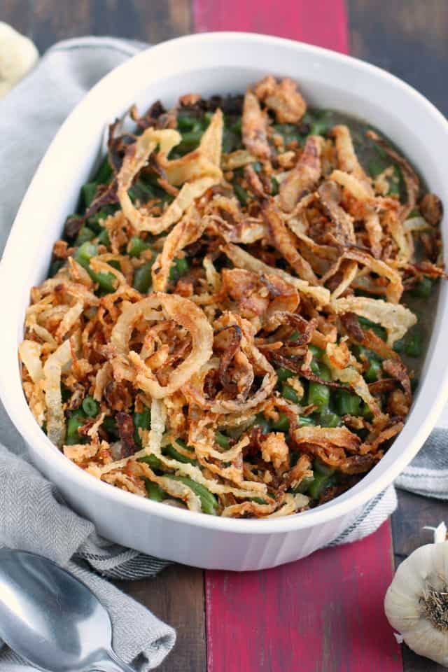 vegan green bean casserole recipe from scratch