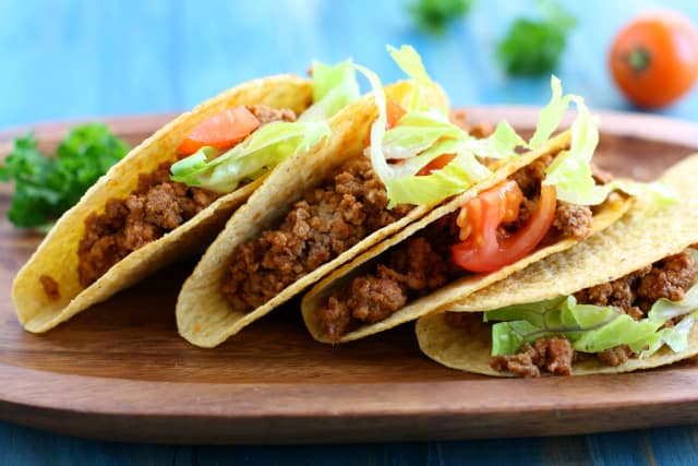 Super simple turkey tacos are a family friendly dinner option that everyone loves!