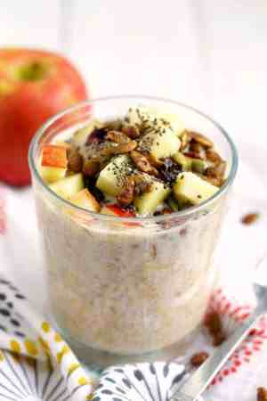 Dairy free overnight oats are a great way to start your morning!