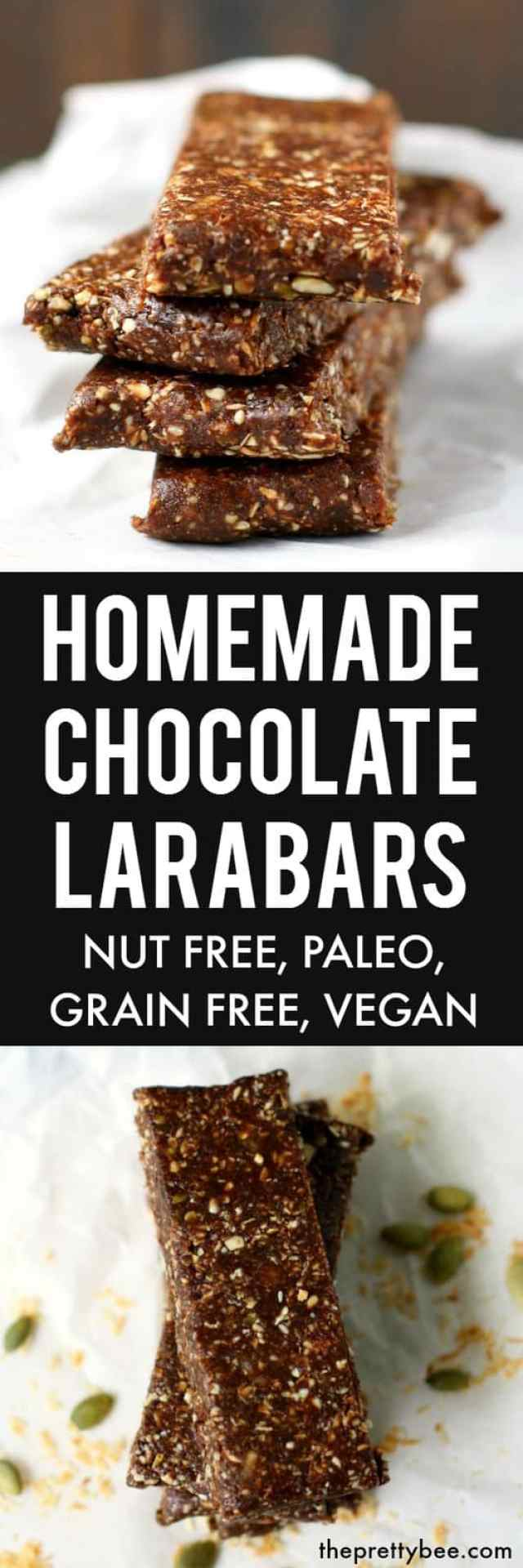 Nut free chocolate larabar recipe