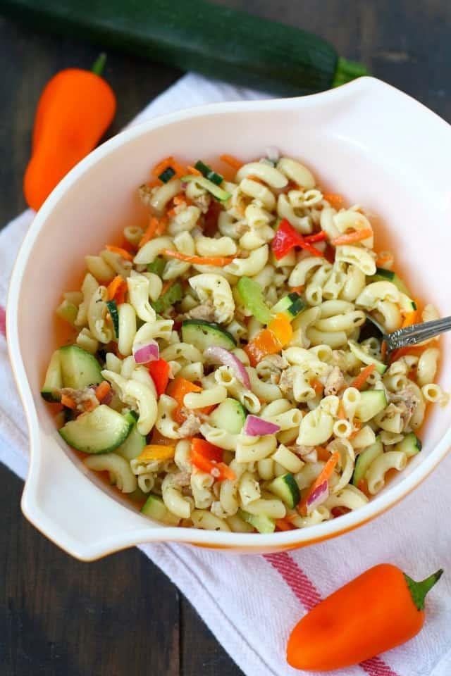 simple macaroni salad without mayonnaise