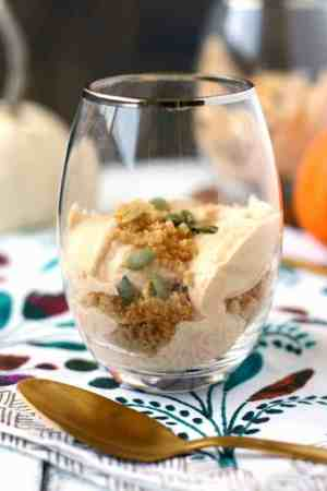 dairy free pumpkin mousse