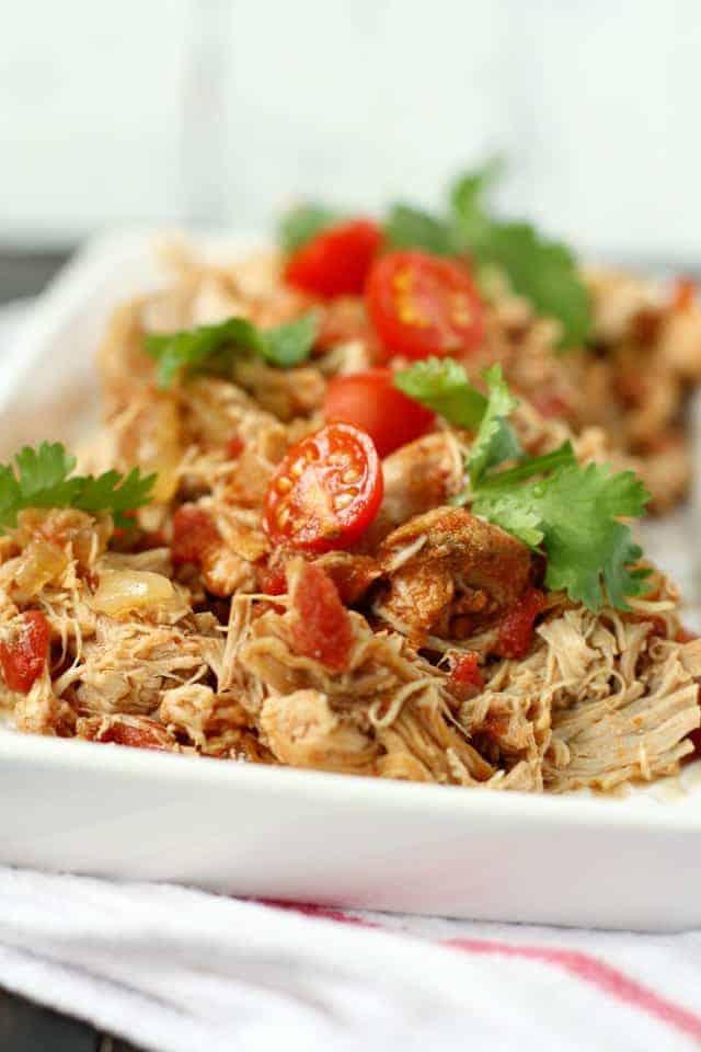 crockpot taco chicken recipe