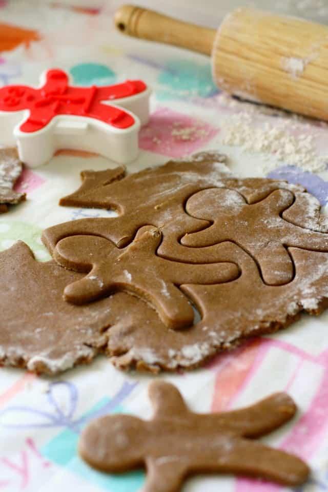 gluten free gingerbread dough