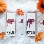 fall lipstick, fall makeup, fall, beauty, cosmetics, kylie cosmetics, colourpop, review