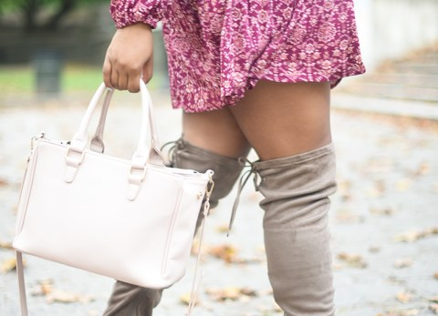 fall dress, OTK boots, over the knee, fall boots, fall style, fall clothes, fall fashion, nyc blogger,