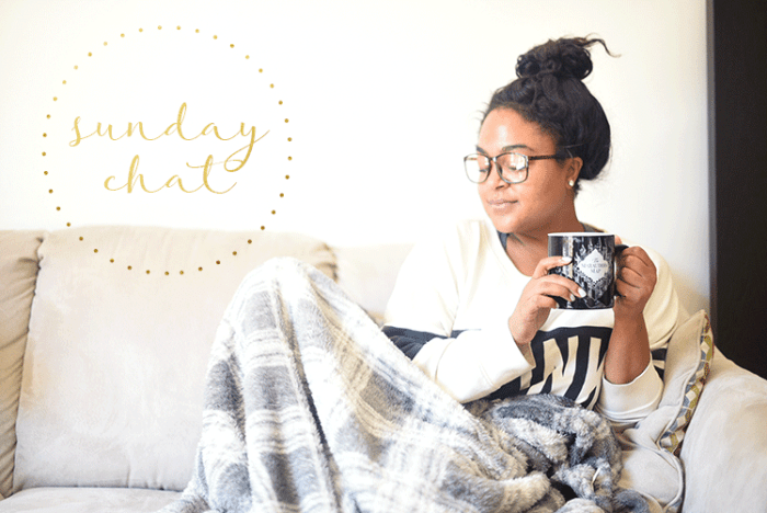 sunday chat, self-care, relax, meditation, happiness, anxiety, emotion, rest, recharge, relax