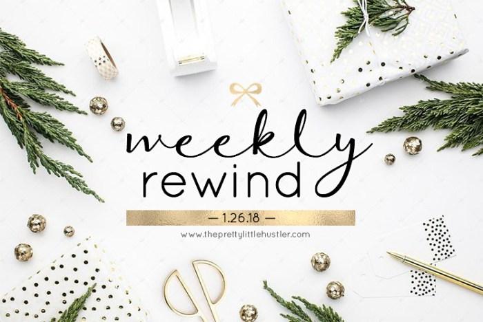 Weekly recap, weekend sales, nyc blog