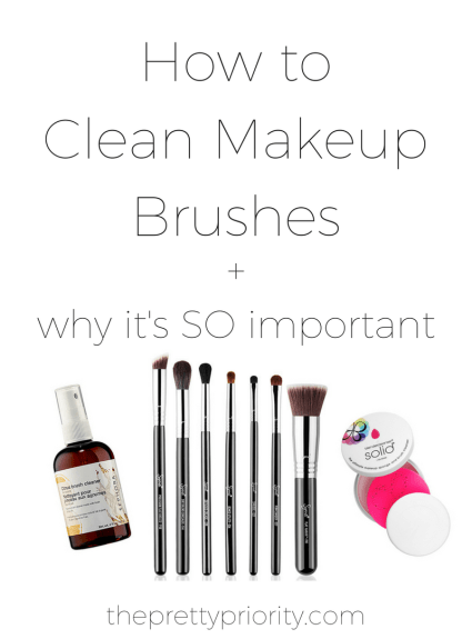 How to Clean Your Makeup Brushes, and Why You Should