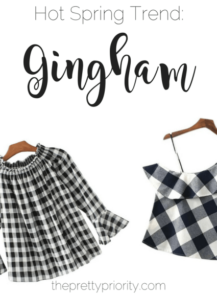 Spring Picks: Going Gaga for Gingham