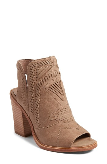 ca33417b3957 Vince Camuto Karinta Block Heel Bootie in French Taupe   99 (after sale    149)