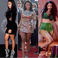 The three Nicki Minaj looks of the night.