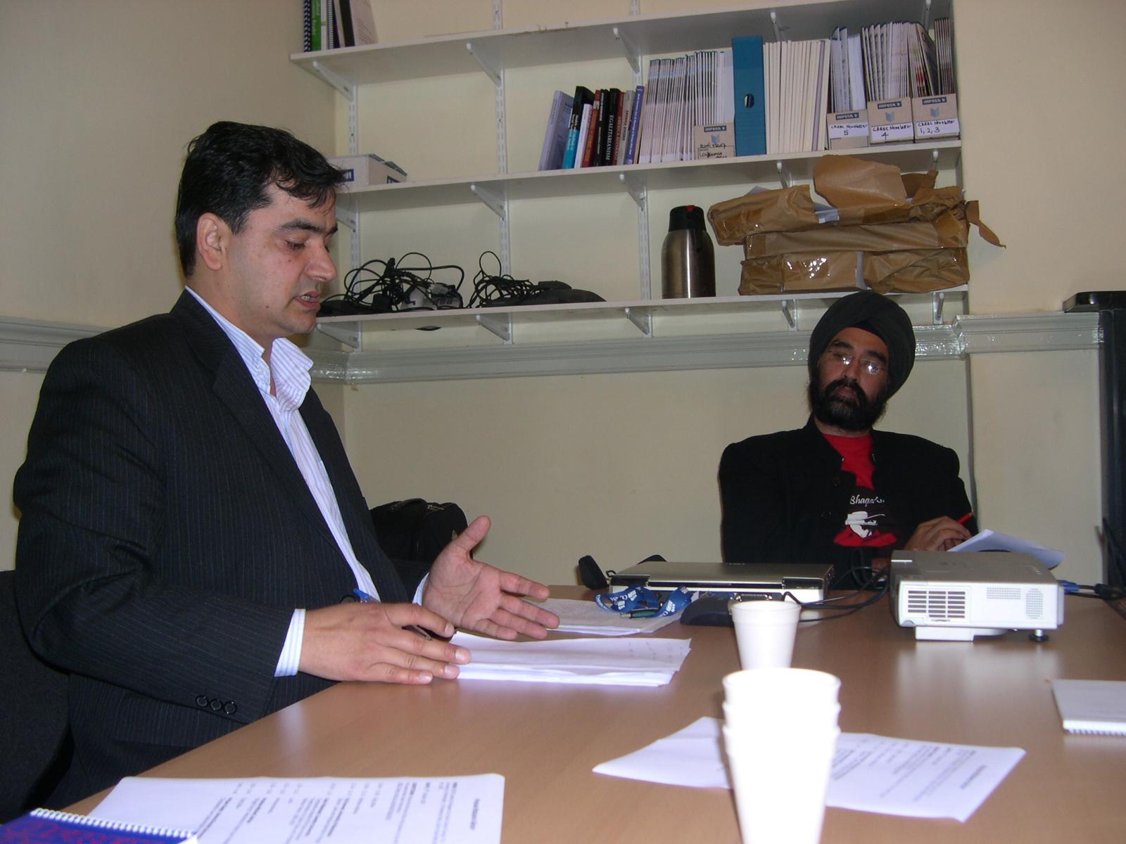 Tahir Mahmood and Virinder Kalra