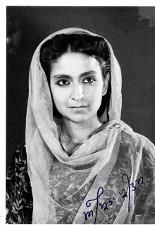Amrita Pritam in 1948. Photograph courtesy of Amarjit Chandan Collection