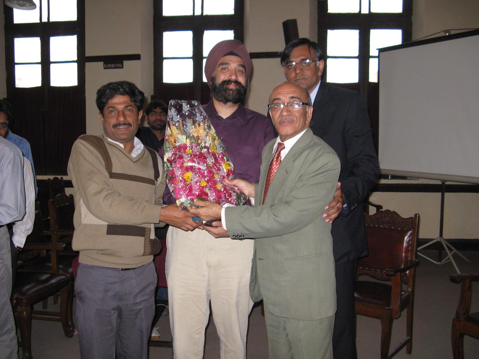 PRG Seminar at GCU, Lahore Feb 2009