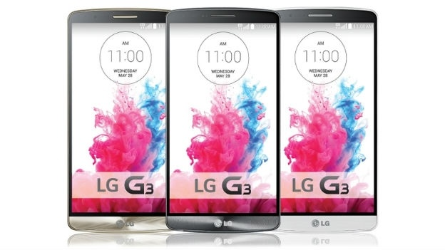 LG G3 press shot