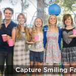 JIBO Worlds First Family Robot Captures everyone smiling