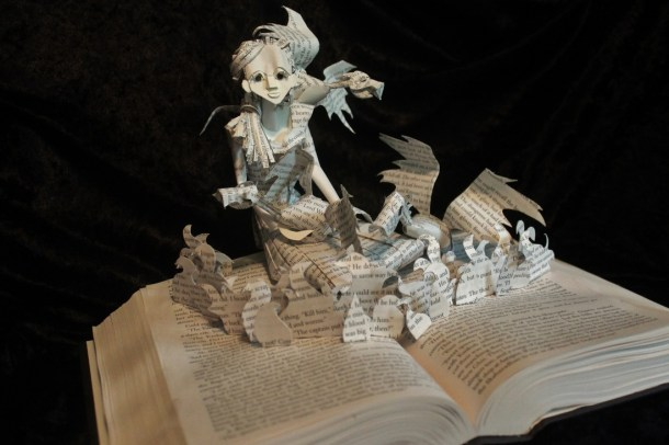 jodi harvey-brown book sculpture 1